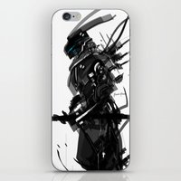 Black And White Tech Zer… iPhone & iPod Skin