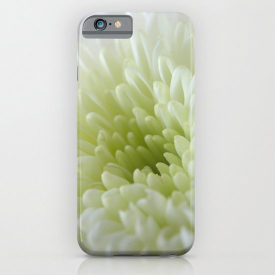 White Chrysanthemum iPhone & iPod Case