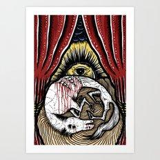 Dead Horse Art Print
