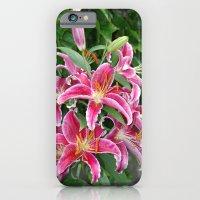 Star Lillies iPhone 6 Slim Case