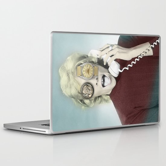 time goes by Laptop & iPad Skin