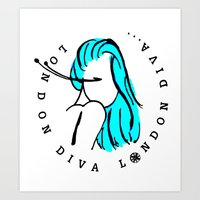 London Diva Art Print