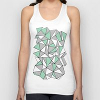 Abstraction Lines With M… Unisex Tank Top