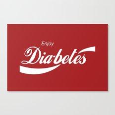 Enjoy Diabetes Canvas Print