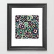 Mandala 150 (Floral) Framed Art Print