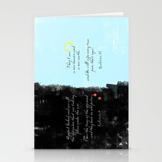 Tears Stationery Card