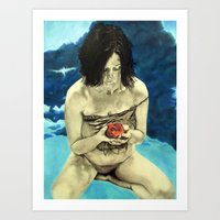 Holding On To What Is Lo… Art Print
