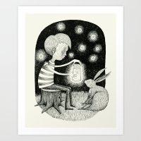 'Save Your Light For Dar… Art Print