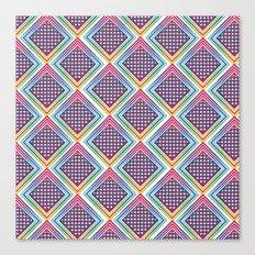 Gradient Rhombus Canvas Print