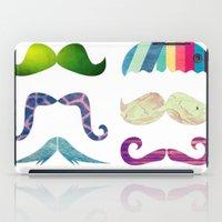 mustache BOOM iPad Case