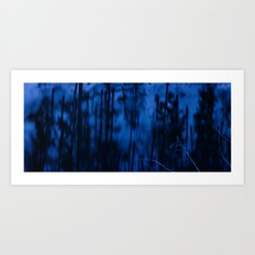 Silence of the Winter Waters Art Print