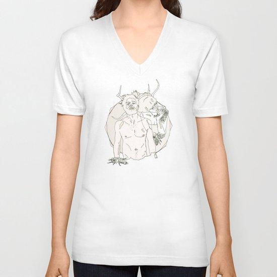 D O V-neck T-shirt