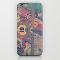 iPhone & iPod Case featuring Pinball Redux by Ivan Guerrero