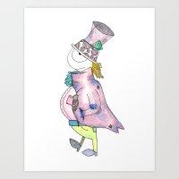 Mad Hatter Art Print