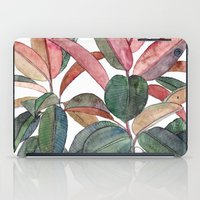 Rubber Plant iPad Case