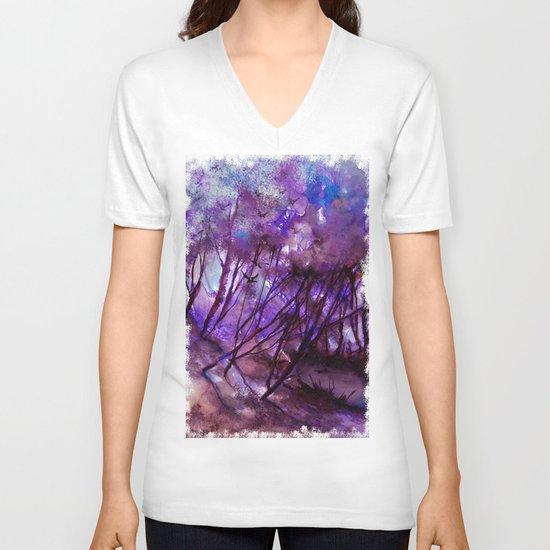 yanılsama V-neck T-shirt