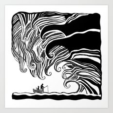 Dark Wave Art Print