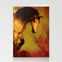 HORSE - Choctaw ridge Stationery Cards