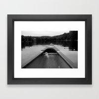 Tip Framed Art Print