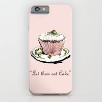 iPhone & iPod Case featuring Let Them Eat Cake by Romina M.