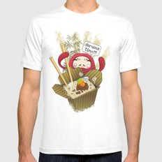 Daruma Time!!! SMALL Mens Fitted Tee White