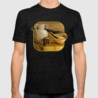 Mandolin At Rest Mens Fitted Tee Tri-Black SMALL