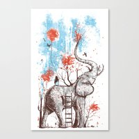 A Happy Place Canvas Print