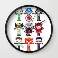 'UNCANNY AVENGERS' ROBOT… Wall Clock