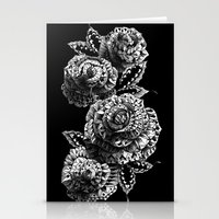 roses Stationery Cards featuring Four Roses by BIOWORKZ