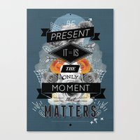 The Present Canvas Print