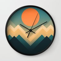 Inca Wall Clock