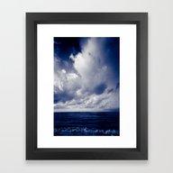 Summer Ver.blueblack Framed Art Print