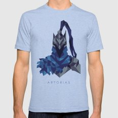 Artorias of the Abyss - Dark Souls Mens Fitted Tee Tri-Blue SMALL