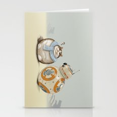 CAT AND DROID Stationery Cards