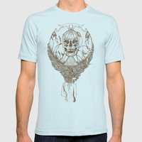 lady death // brown Mens Fitted Tee Light Blue SMALL