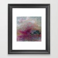 Dustbowl Sunset Framed Art Print