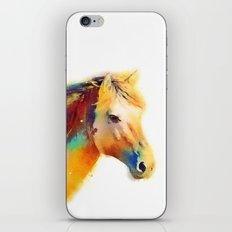 The Spirited - Horse iPhone & iPod Skin