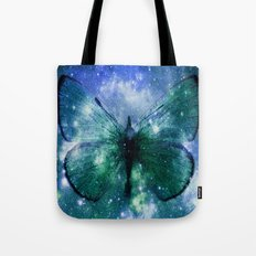 Celestial Butterfly Tote Bag