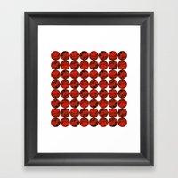 Roses (red) Framed Art Print