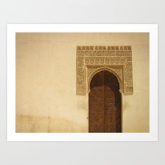 Moor Door Art Print