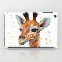 Giraffe Baby iPad Case