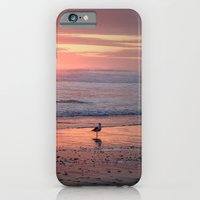 iPhone & iPod Case featuring Sunset at Cannon Beach Oregon by Wood-n-Images