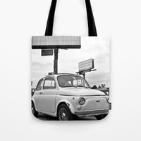 Fiat 500 Forever Tote Bag