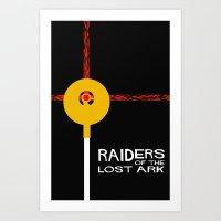 Raiders Of The Lost Ark … Art Print