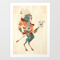 The Magical Faun Art Print
