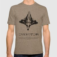 Inception Mens Fitted Tee Tri-Coffee SMALL