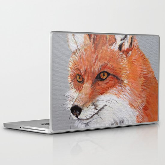Red Fox Laptop & iPad Skin