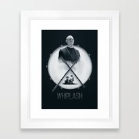 Whiplash  Framed Art Print