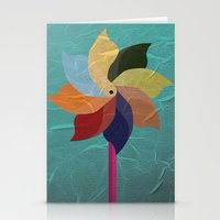 Toy Windmill Stationery Cards