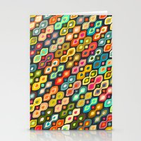 Varsha ikat pop Stationery Cards